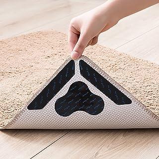 SERAPHY Rug Gripper,12 PCS Rug Grippers for Area Rugs on Carpet, Non Slip Rug Gripper for Hardwood Floors,Anti Slip Carpet...