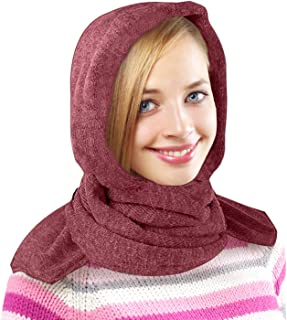 35 Below Marled Hooded Scarf - Head Scarf/Winter Scarf