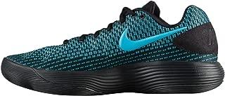 Nike Men's Hyperdunk 2017 Low Basketball Shoe (Black/Chlorine Blue, 8 D(M) US)