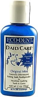 Eco-Dent Daily Care Baking Powder Toothpowder, Original Mint, 2 oz (56 g) Pack of 2