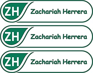 All-purpose, Custom Name Labels, Name And Initials, Multiple Colors And Sizes, Waterproof, Microwave And Dishwasher Safe, Washer And Dryer Safe, Daycare Labels, Personalized Labels, Custom Stickers