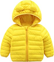 CECORC Winter Coats for Kids with Hoods (Padded) Light Puffer Jacket for Baby Boys Girls, Infants, Toddlers