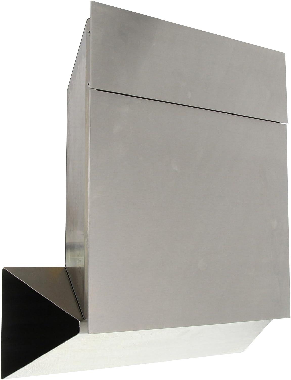 35% OFF Burg-Wächter Quadus 3745 NI Grey Steel Stainless At the price Mailbox