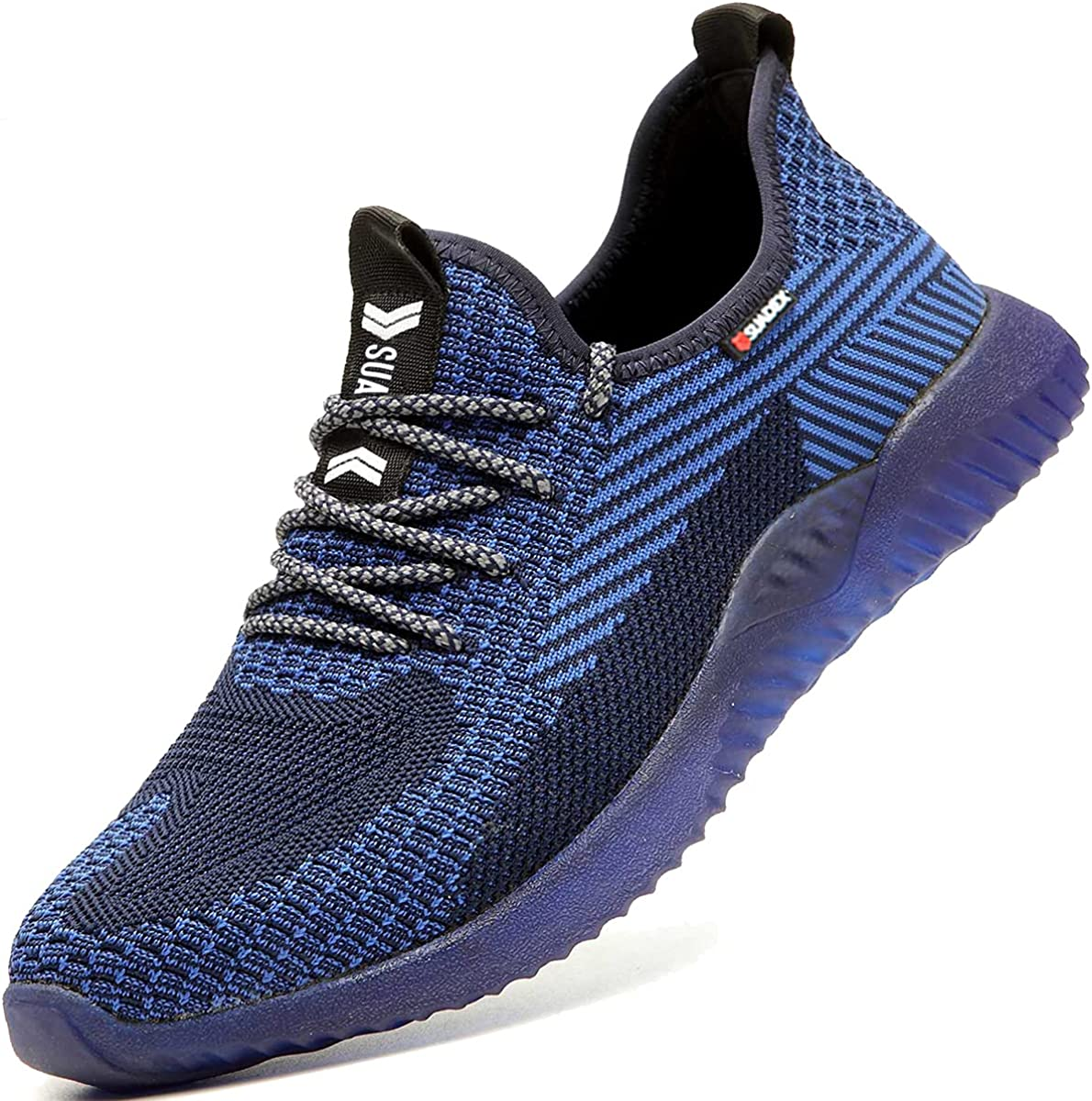 SUADEX Indestructible Steel Toe Work Cheap Ranking TOP13 SALE Start Men Shoes for Lightwe Women