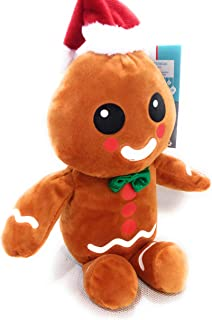 At Home Christmas Animated Singing Dancing Gingerbread Man Sings Jingle Bells