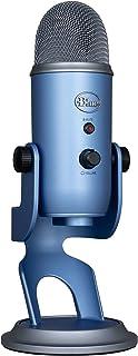 Blue Micrófono USB profesional Yeti para grabación, streaming, podcasting, radiodifusión, gaming, voz en off y más, multip...