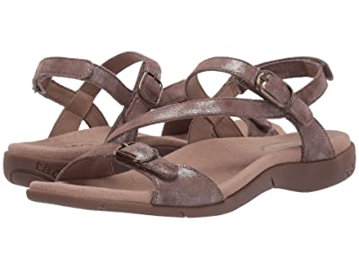 Taos Footwear Beauty 2 (Taupe Metallic) Women