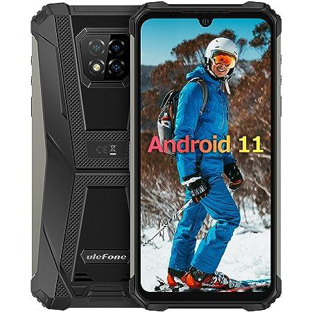 Móvil Resistente 4G Android 10, Ulefone Armor 8Pro Helio P60 Octa-Core Telefono Movil Antigolpes IP68, 6GB +128GB, Cámara Trasera Triple de 16MP, HD de 6,1 Pulgadas Smartphone, Batería 5580 mAh, Tipo