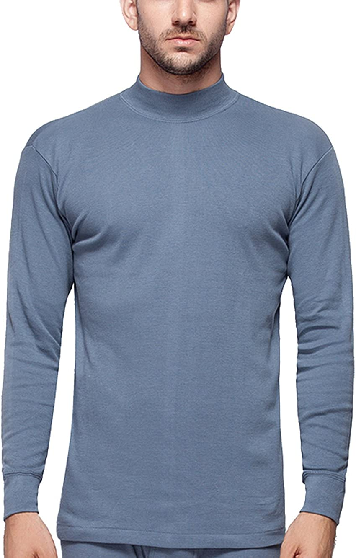 respeedime Thermal 2pc Set Male Underwear Soft Cozy Top & Bottom Traveling