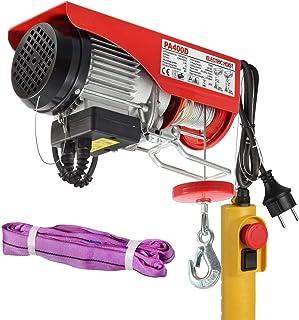 Partsam Polipasto eléctrico 200KG/400kg 900W 880lbs con control Para talleres taller de la tienda casera