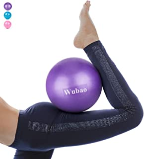 Wubao Pilates Ball,  Barre Ball,  Mini Exercise Ball,  9 Inch Small Bender Ball,  Pilates,  Yoga,  Core Training and Physical Therapy,  Improves Balance (Home & Gym & Office)