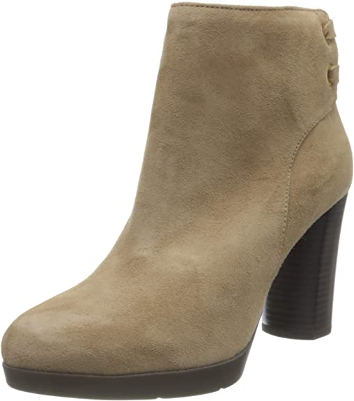 Geox D Anylla High G, Ankle Boot Mujer