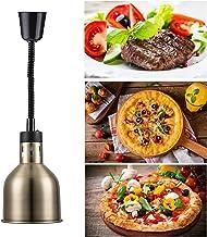DevileLover Lampe Chauffante Infrarouge des Aliments pour Buffet et Cuisine,Commercial Lampe Chauffe-Plats Rétractable ave...