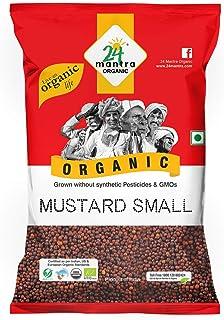 24 Mantra Organic Mustard Seed whole, Small, 100g