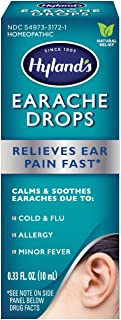 Ear Drops for Swimmers Ear and Allergy Relief for Kids and Adults by Hyland's, for..