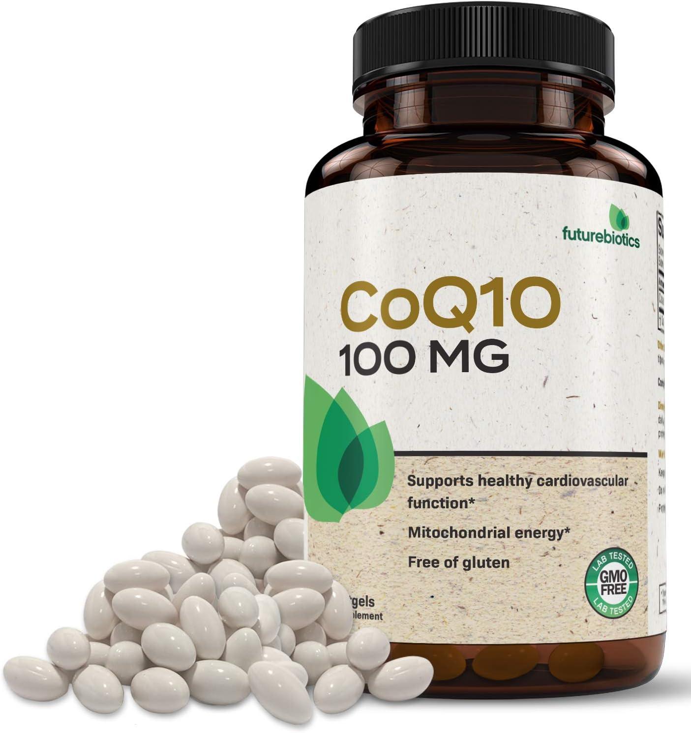Futurebiotics CoQ10 100mg CoEnzyme San Antonio Mall Q-10 GMO - Antioxidan Non unisex