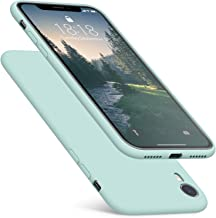 DTTO iPhone XR Case, [Romance Series] Silicone Case with Hybrid Protection for Apple iPhone XR 6.1 Inch - Mint Green