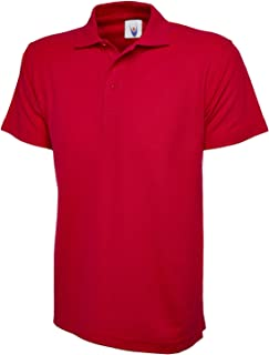 Mens & Womens Classic Polo Shirt Short Sleeve Plain Tee Top Casual Work Sports