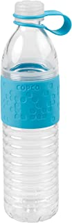 Wilton Copco 2510-2191 Hydra Reusable Tritan Water Bottle with Spill Resistant Lid and Non-Slip Sleeve, 20-Ounce, Blue