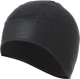 4ucycling Thermal Fleeced 10% Spandex Skull Cap and Helmet Liner Black