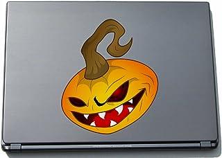 Naklejka na laptopa - dynia 08 - pumpkin - laptop skin - 210 x 176 mm naklejka