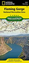 Flaming Gorge National Recreation Area (National Geographic Trails Illustrated Map (704))