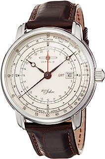 [ツェッペリン]ZEPPELIN 腕時計 100周年 シルバー文字盤 76461 メンズ 【正規輸入品】