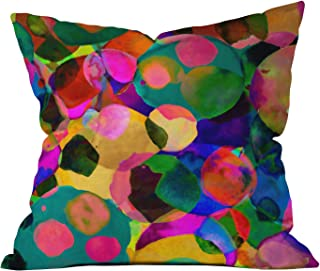 Deny Designs Amy Sia Rainbow Spot Throw Pillow, 26-Inch by 26-Inch