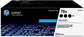 HP 78A | CE278AT1 | 3 Toner Cartridges | Black