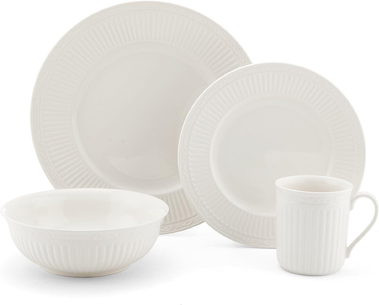 Mikasa Italian Countryside 16-Piece Dinnerware Set, Service for 4