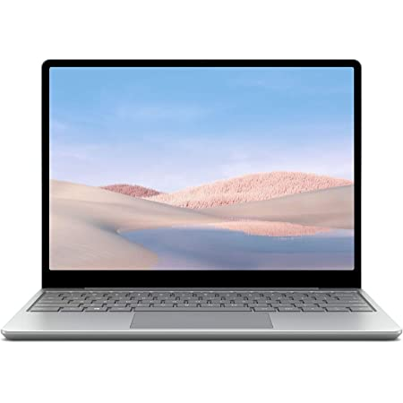 """Microsoft Surface Laptop Go 10th Gen Intel Core i5-1035G1 12.4"""" Touchscreen Laptop (8GB/128GB SSD/Windows 10 Home in S Mode/Intel UHD Graphics/Platinum/1.110 kg,25% Off on Microsoft 365), THH-00023"""