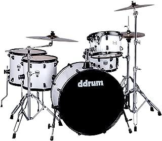 ddrum J2R 524 WHT Journeyman Piece Drum Set, White