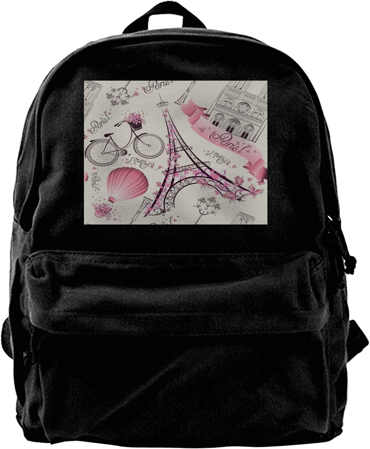 Eiffel Tower In Paris Fort Worth Mall Backpack For National uniform free shipping Men Fo Laptop Travel