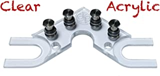 The String Butler V2 Guitar Tuning Improvement Device - Best Guitar Upgrade to Improve Tuning Stability (V2 Clear Acrylic)