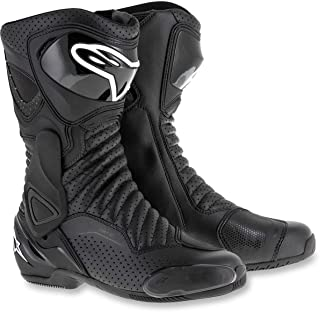 Alpinestars SMX-6 V2 Vented Street Boots-Black/Black-47