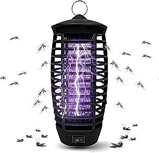 Fullsexy Lampara Antimosquitos, Antimosquitos Electrico de UV LED Matamoscas Electrico para Matar Mosquitos y Insectos