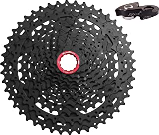 JGbike Sunrace XD Cassette 11 Speed 10-46T CSMX9X Wide Ratio MTB Cassette for Mountain Bike Including Extender for SRAM XD Driver