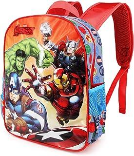 Avengers Multicolor Mochila Basic - Force Rucksack Mochila Escuela Infantil para Niños Los Vengadores - Vuelta al Cole - 40 Centimeters