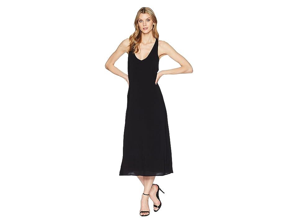 Kenneth Cole New York Twist Back Tank Dress (Black) Women