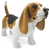 Deals on Melissa & Doug Giant Basset Hound Lifelike Stuffed Animal Dog