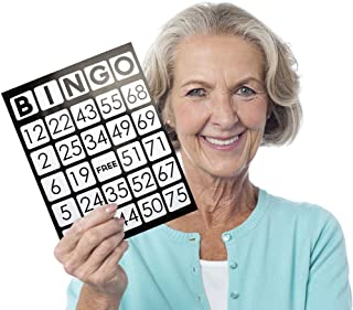 Royal Bingo Supplies EZ Readers Large-Format 8.5