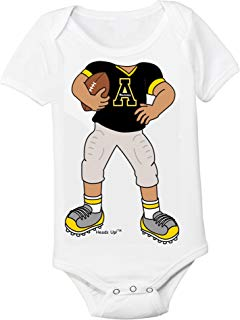 Future Tailgater Appalachian State Heads Up! Football Baby Onesie