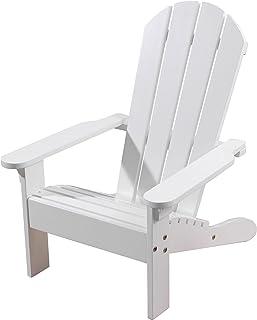 KidKraft Wooden Adirondack Childrenu0027s Outdoor Chair, Weather Resistant    White