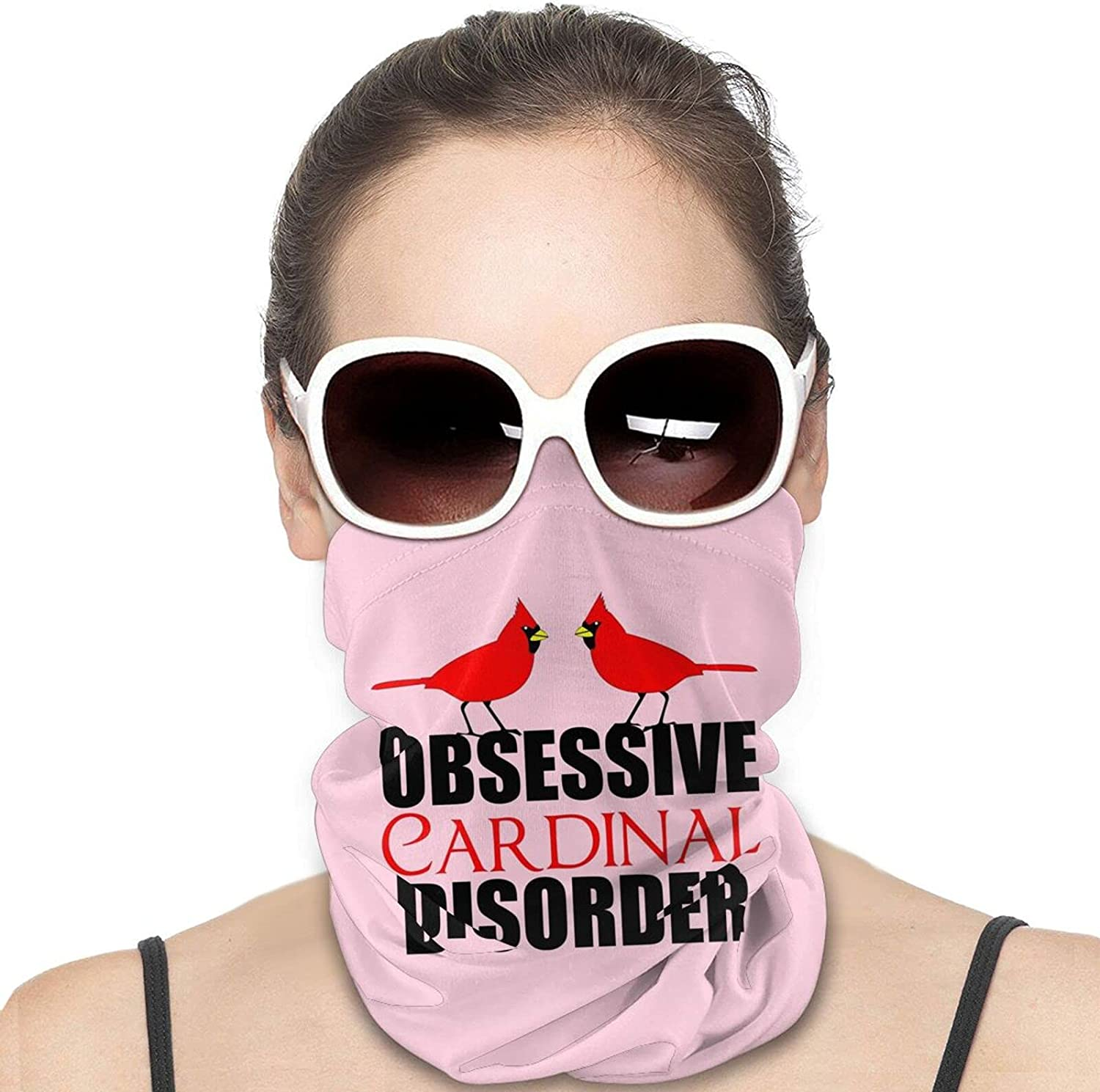 Obsessive Birding Disorder Round Neck Gaiter Bandnas Face Cover Uv Protection Prevent bask in Ice Scarf Headbands Perfect for Motorcycle Cycling Running Festival Raves Outdoors