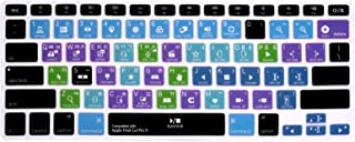 HRH Korean Shortcut Hotkey Silicone Keyboard Cover Skin for MacBook Air 13,Pro 13/15/17 (with or w/Out Retina Display, 201...
