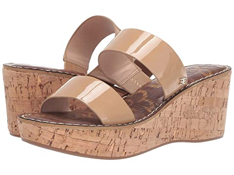 Clothing, Shoes & Accessories Adaptable Aerosoles Leather Upper Wedge Sandal Slip On Sz 8 Open Toe Mule