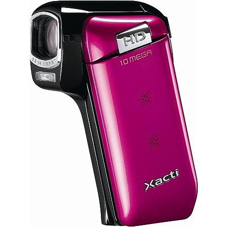 SANYO ハイビジョン デジタルムービーカメラ Xacti (ザクティ) DMX-CG10 ピンク DMX-CG10(P)
