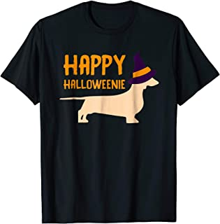 Happy Halloweenie Dachshund T-Shirt