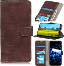Phone cases Crocodile Texture Horizontal Flip Leather Case for Xiaomi Redmi Note 7 / Redmi Note 7 Pro / Redmi Note 7S, with Holder & Wallet & Card Slots & Photo Frame(Black) ( Color : Brown )