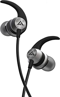 Boult Audio BassBuds X1 in-Ear Wired Earphones with Mic and 10mm Powerful Driver for Extra Bass and HD Sound (Grey)
